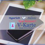 美容室・美容院の次世代型POS 『Salon de Net 』 電子カルテ V‐Karteのお知らせ